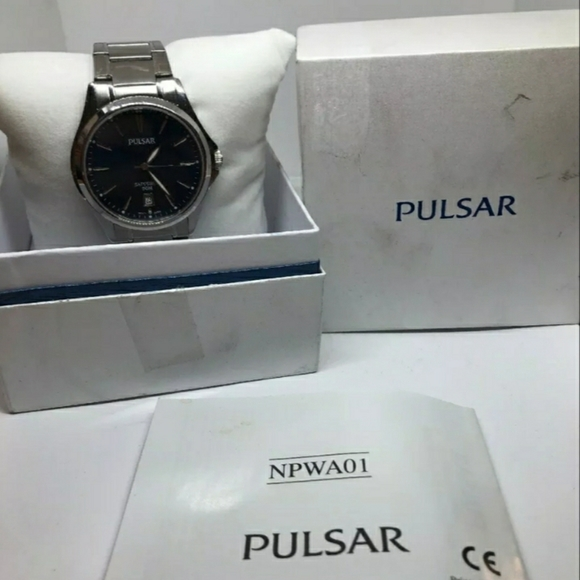 Pulsar Other - Pulsar (by seiko) blue dial sapphire crystal watch